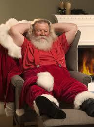 Santa After Christmas Eve